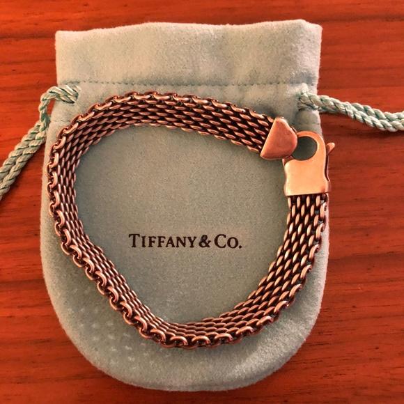 5ba23888e Tiffany & Co Men's Mesh Bracelet   Sterling Silver.  M_5b3461ef3c9844be36f2307f. Other Accessories ...